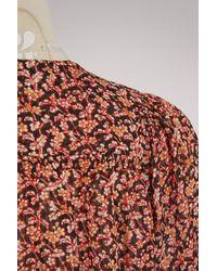 Vanessa Bruno Multicolor Silk Glory Top