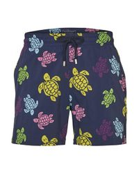 Vilebrequin Blue Moorise Swimming Shorts for men