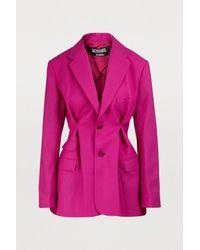 Veste Raffaella Jacquemus en coloris Pink