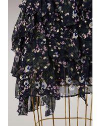 Isabel Marant - Blue Manda Ruffled Dress - Lyst