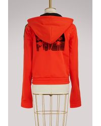 PUMA Red Fitted Tracksuit Jacket