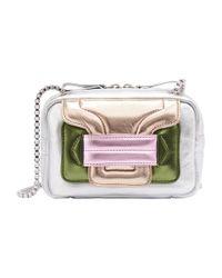 Pierre Hardy Multicolor Alpha Clutch Bag