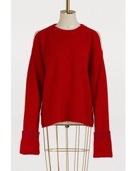 Stella McCartney Red Wool Sweater