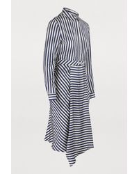 Maison Labiche Blue Je Ne Sais Quoi Striped Dress