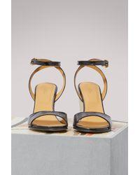 A.P.C. Black Oda Sandals