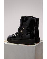 KENZO Black Alaska Boots