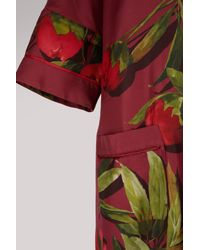 F.R.S For Restless Sleepers - Red Eurinome Silk Dress - Lyst