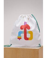 AALTO White Play Gym Logo Bag