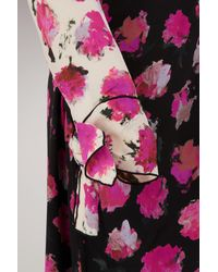 Proenza Schouler - Multicolor Silk Printed Long Dress - Lyst