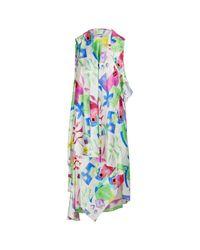 Balenciaga Multicolor Ärmelloses Kleid