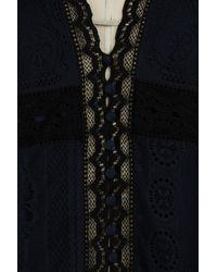 Chloé Blue Lace Shirt