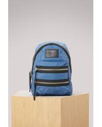 Marc Jacobs Blue Biker Mini Backpack