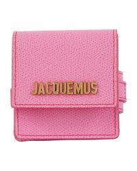 Sac bracelet en cuir Jacquemus en coloris Pink