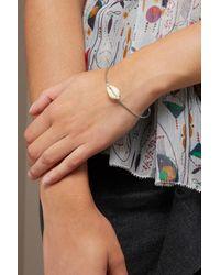 Isabel Marant - Metallic Shell Bracelet - Lyst