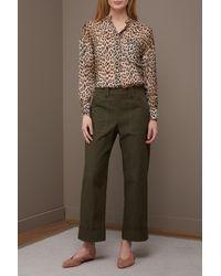 Vanessa Seward Green Fitz Pants