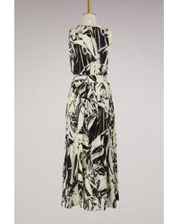 Proenza Schouler Black Silk Maxi Dress