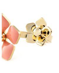 Fendi   Metallic 'Blossom' Ring   Lyst