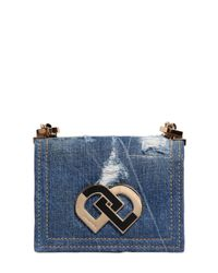 DSquared² | Blue 'dd' Crossbody Bag | Lyst