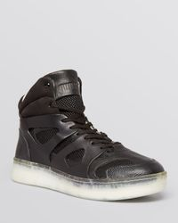 PUMA Black Alexander Mcqueen Move Mid Sneakers for men