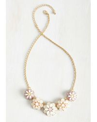 Ana Accessories Inc - Metallic The Heart Grows Fondant Necklace - Lyst