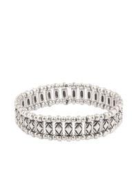 Philippe Audibert | Metallic Leon Stretch Bracelet | Lyst
