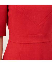 Hobbs - Red Blair Dress - Lyst