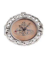 Vivienne Westwood Metallic Pimlico Ring
