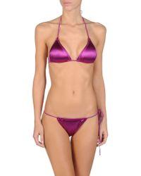 Dolce & Gabbana Purple Bikini