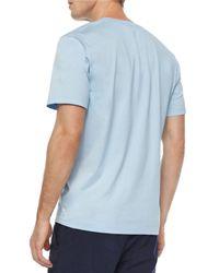 Michael Kors - Green Short-Sleeved V-Neck Jersey T-Shirt for Men - Lyst