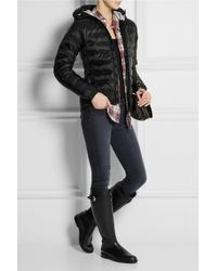Mulberry - Black Riding-style Wellington Boots - Lyst