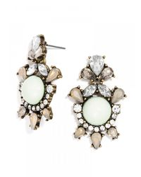 BaubleBar - Metallic Angelic Drops - Mint - Lyst