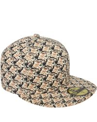 KENZO Natural Beige New Era Tiger Heads Cap for men