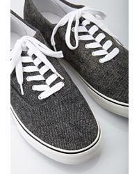 Forever 21 - Black Classic Denim Sneakers for Men - Lyst