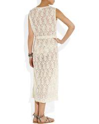 Zimmermann | White Prairie Lace Dress | Lyst