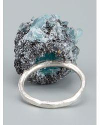 Arielle De Pinto   Metallic 'crystal Boule' Ring   Lyst