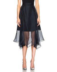 Marissa Webb - Blue Yasmin Skirt - Lyst