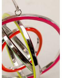 Delfina Delettrez - Multicolor Tourbillon Earring - Lyst