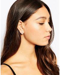 Pieces - Metallic & Julie Sandlau Sterling Silver Jay Snake Stud Earrings - Lyst