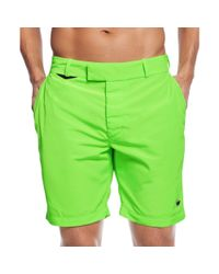 DIESEL - Green Bmbx Chino Beach Shorts for Men - Lyst