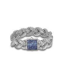 John Hardy | Metallic Large Braided Bracelet | Lyst