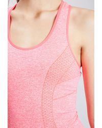 Forever 21 - Pink Active Seamless Athletic Tank You've Been Added To The Waitlist - Lyst