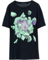 Christopher Kane Black Short Sleeve T-shirt for men