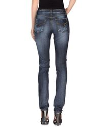 S.o.s By Orza Studio | Blue Denim Pants | Lyst