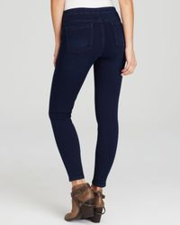 Spanx Blue ® Cropped Denim Leggings