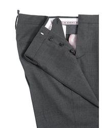 DSquared² Gray Tokyo Light Stretch Wool Gabardine Suit for men