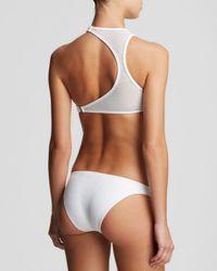 Zimmermann White Pivot Vortex Bikini Set