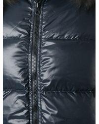 Duvetica - Blue 'Kappa' Padded Coat - Lyst