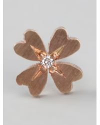 Af House | Metallic Four Leaf Clover Earrings | Lyst