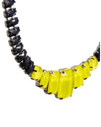 ASOS   Black Faceted Jewel Collar Necklace   Lyst