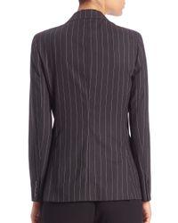 Polo Ralph Lauren   Gray Wool Pinstripe Jacket   Lyst